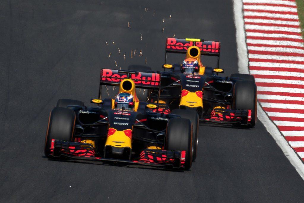 Max Verstappen and Daniel Ricciardo, Malaysia 2016