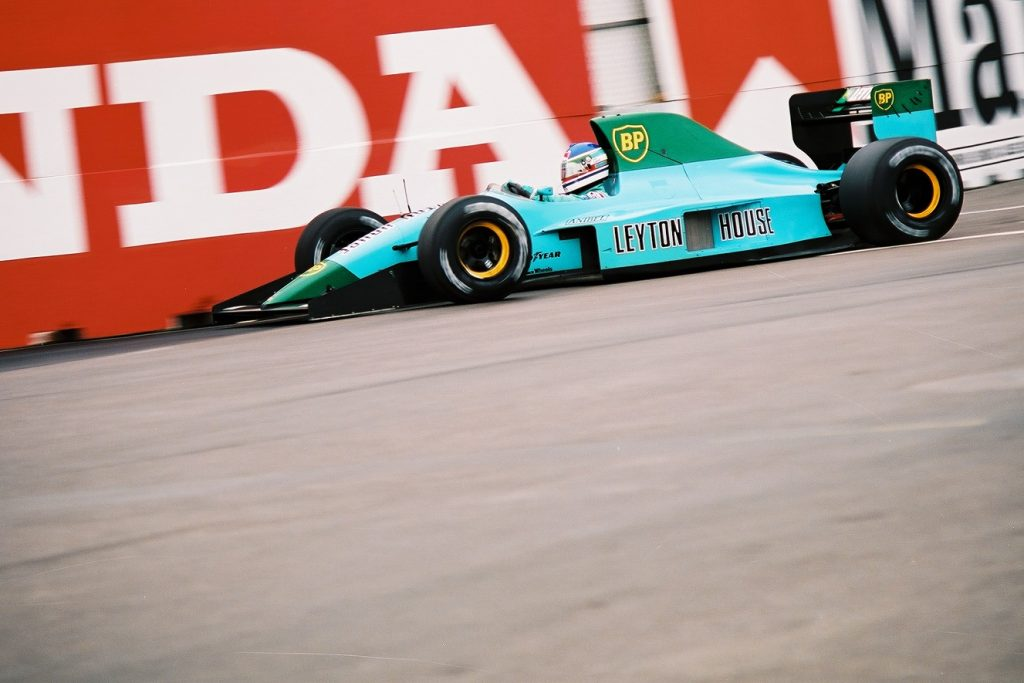 Ivan Capelli 1991 USA grand prix